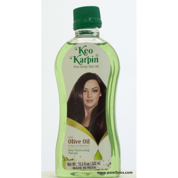 Keo Karpin Hair Oil With Olive Oil 10.5 OZ / 310 Ml