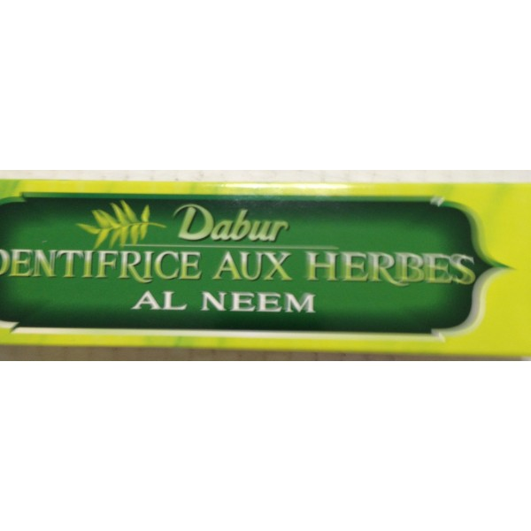 Dabur Dentifrice Aux Herbes 6.7 OZ / 190 Gms