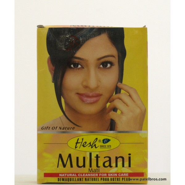 Face Treatments Hesh Multani Mati 3.5 Oz / 100 Gms