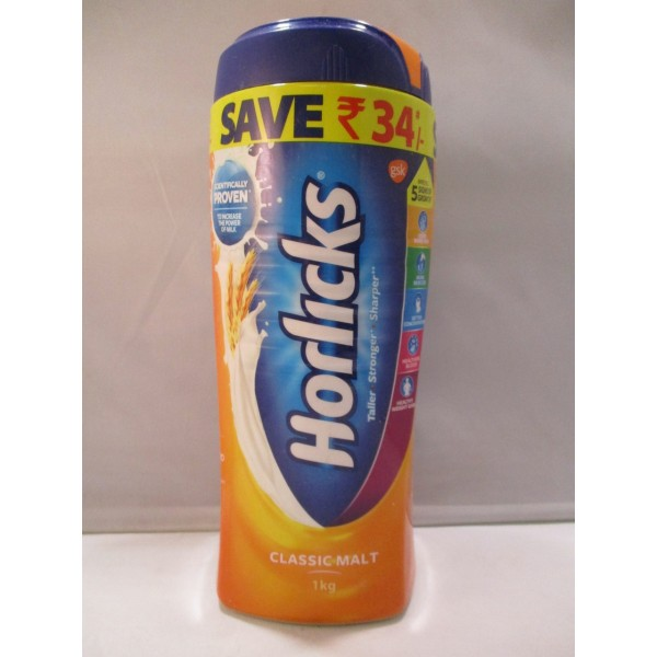 Horlicks Classic Powder Drinks 35.25 OZ / 1000 Gms