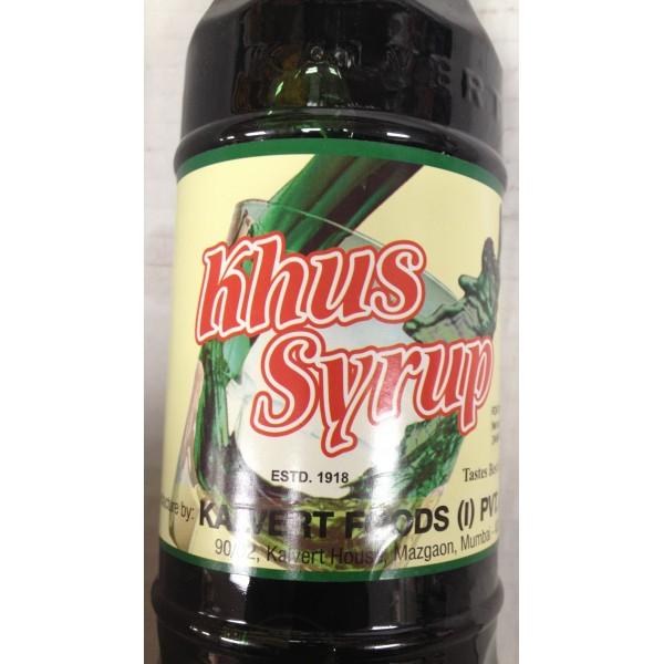 Kalvert Khus Syrup 24.64 Oz / 700 Gms