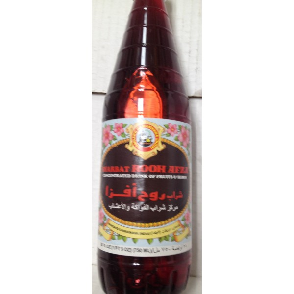 Hamdard Rooh Afza 26.4 Oz / 750 Gms