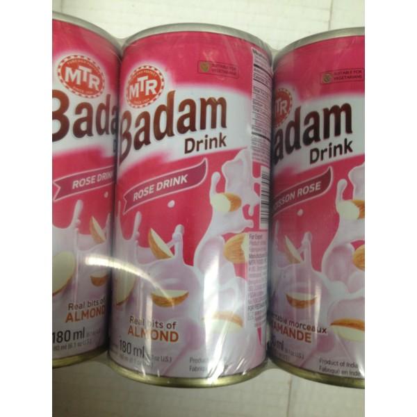 MTR Badam Rose Drink 6.4 Oz / 180 Gms