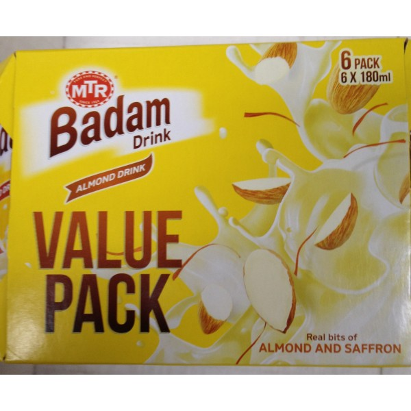 MTR Badam Drink Value Pack 38.1 Oz / 1080 Gms
