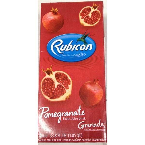 Rubicon Pomegranate Exotic Juice 35.2 Oz / 1000 Gms