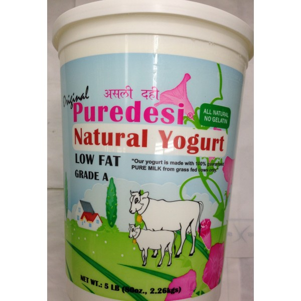PureDesi Low Fat Dahi Yogurt 80 Oz / 2267.2 Gms