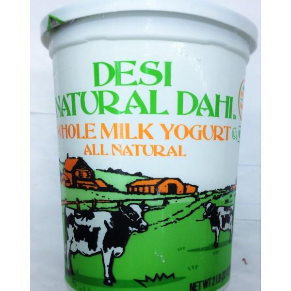Desi Organic Natural Dahi Whole Milk Yogurt 32 Oz / 907 GM
