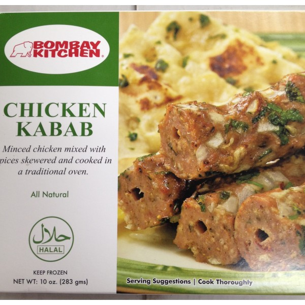 Bombay Kitchen Chicken Kabab 10 Oz / 283 Gms