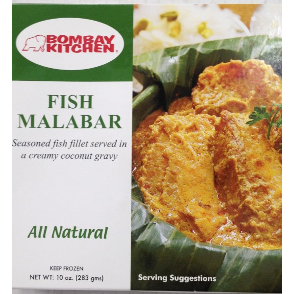Bombay Kitchen Fish Malabar 10 Oz / 283 Gms