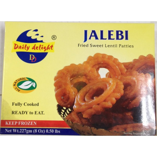 Daily Delight Jalebi 8 Oz / 226 Gms
