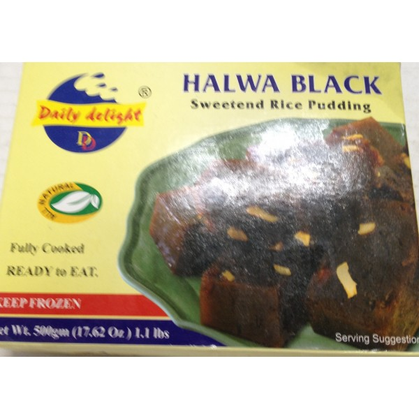 Daily Delight Halwa Black 17.62 Oz / 500 Gms