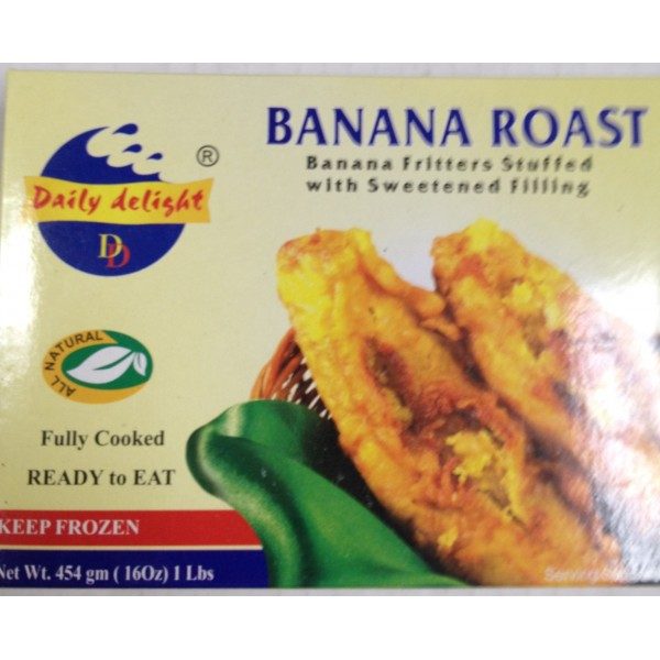 Daily Delight Banana Roast 16 Oz / 454 Gms