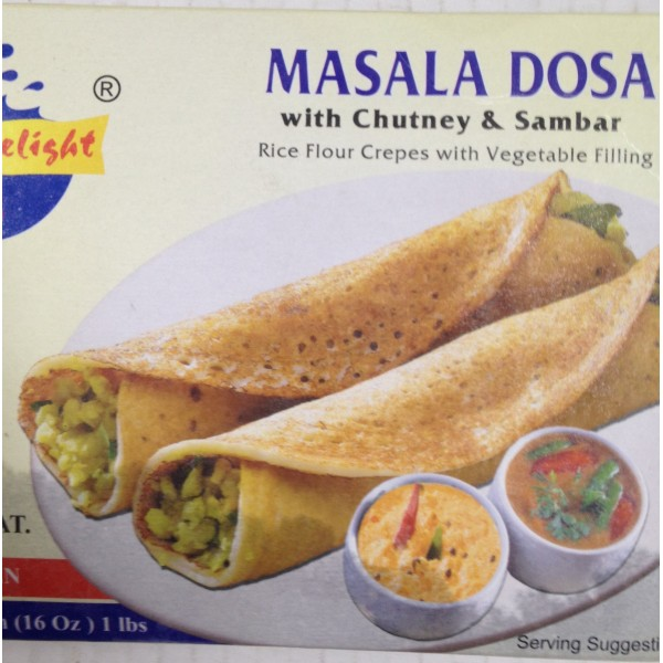 Daily Delight Masala Dosa 16 Oz / 454 Gms