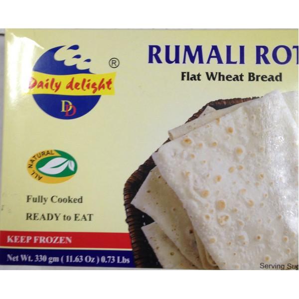 Daily Delight Rumali Roti 11.63Oz / 330 Gms ( 2 No's)