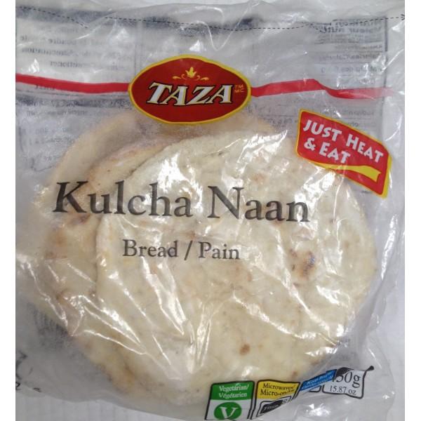 Taza Kulcha Naan 16 Oz / 454 Gms ( 5 No's)