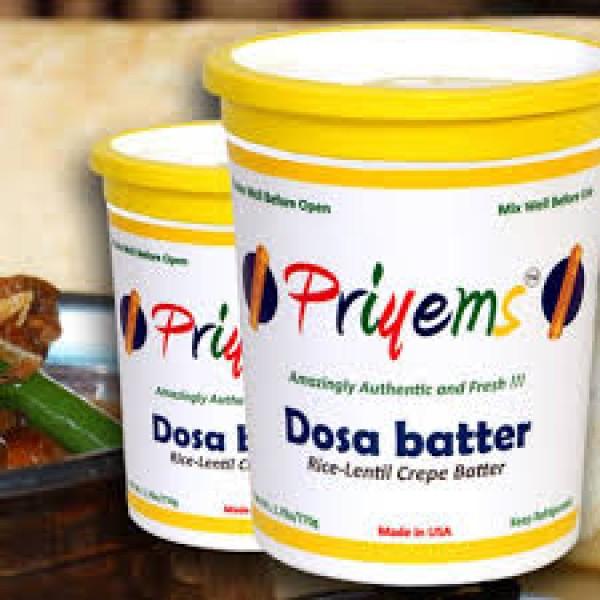 Priyem's Idli /Dosa Batter 2 lb / 900 Gms