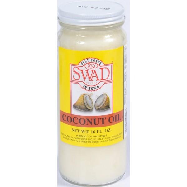 Swad Coconut Oil 15 Fl Oz
