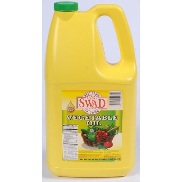 Swad Vegetable Oil 96 Fl Oz