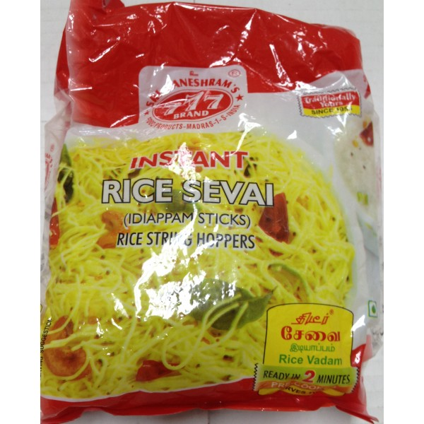 777 Brand Instant Rice Sevai 7 Oz / 200 Gms