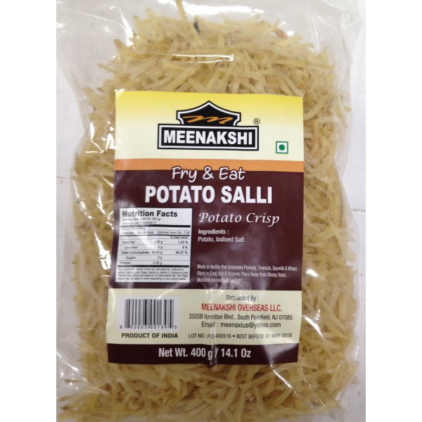 Meenakshi Potato Salli 14.1 Oz / 400 Gms