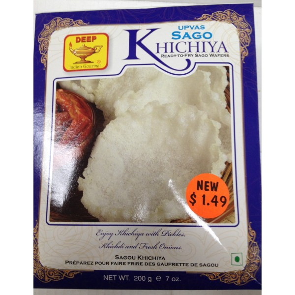 Deep Upvas Sago Khichiya 7 Oz / 200 Gms