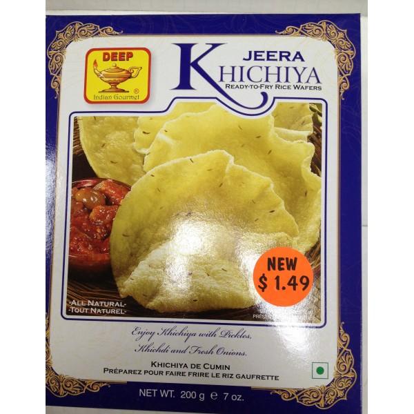 Deep Jeera Khichiya 7 Oz / 200 Gms