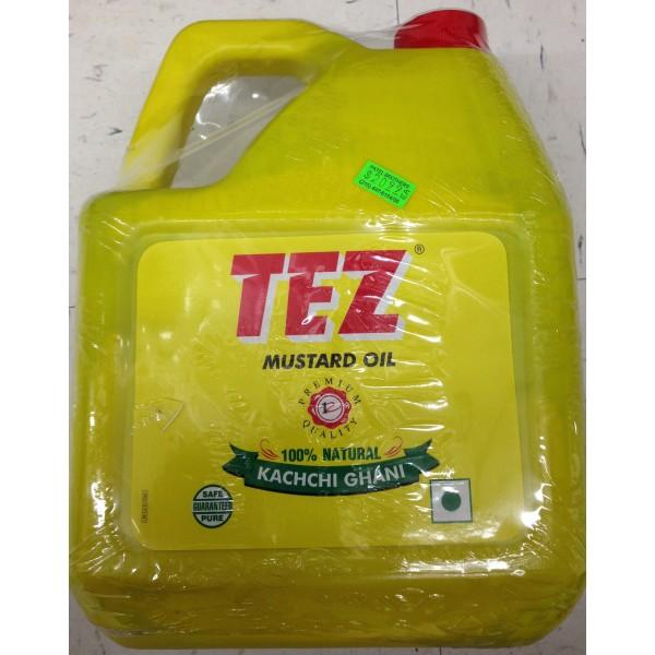 Tez Mustard Massage Oil 160.5 Fl Oz