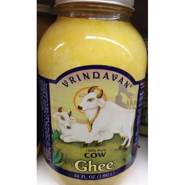Vrindavan Cow Ghee 64 Fl Oz