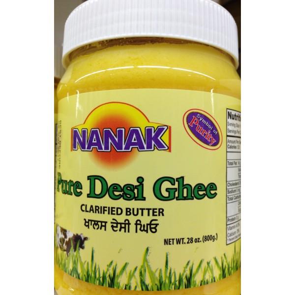 Nanak Pure Desi Ghee 28 Fl Oz