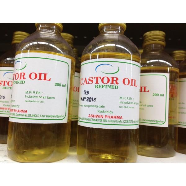 Aswini Pharma Castor Oil 6.76 Fl Oz