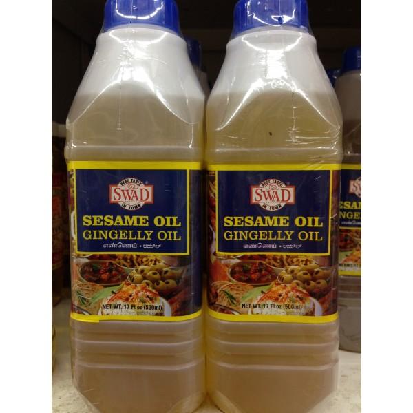 Swad Sesame Oil 17 Fl Oz