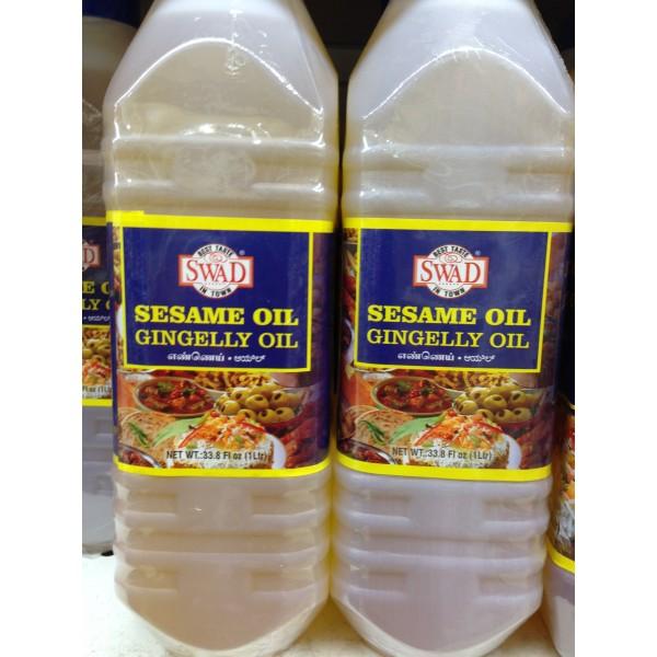 Swad Sesame Oil 33.8 Fl Oz