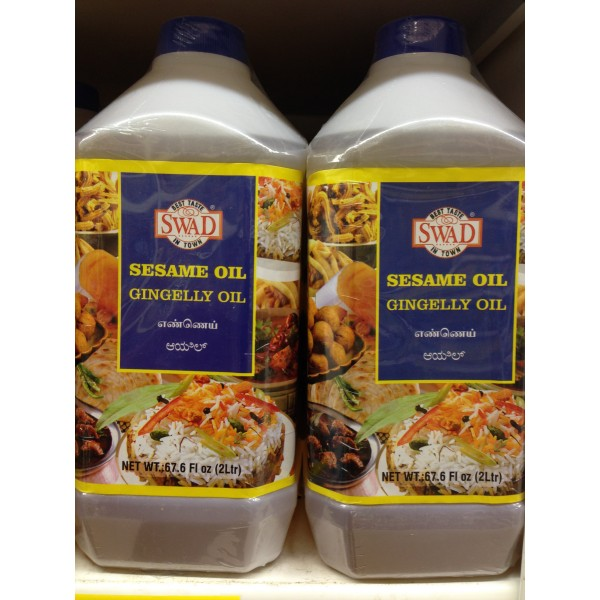 Swad Sesame Oil 67.6 Fl Oz
