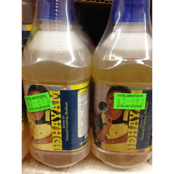 Idhayam Sesame Oil 6.76 Fl Oz