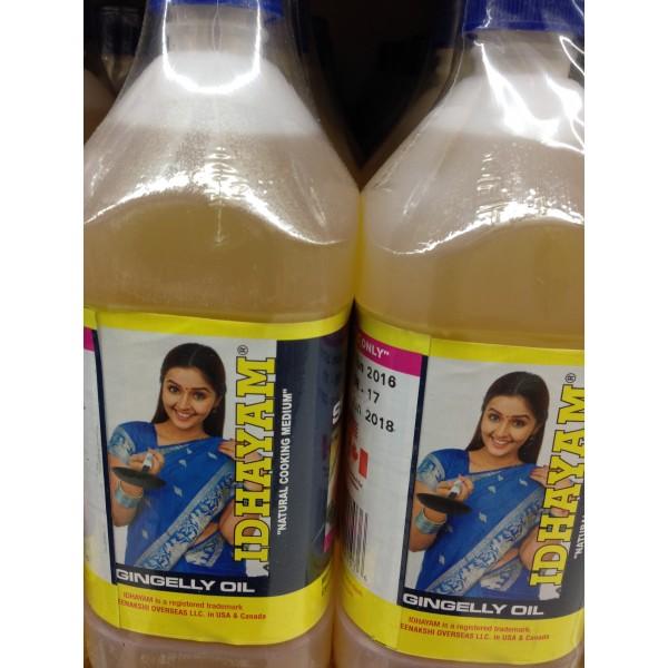 Idhayam Sesame Oil 16.9 Fl Oz