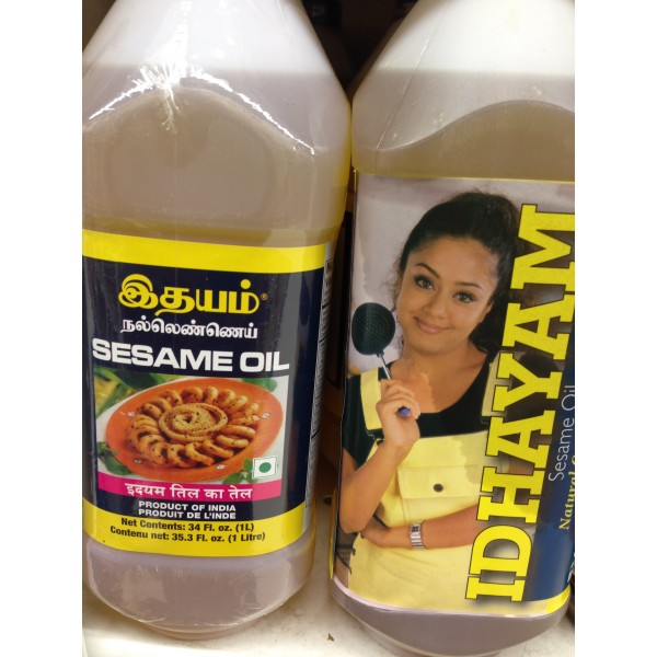 Idhayam Sesame Oil 35.3 Fl Oz