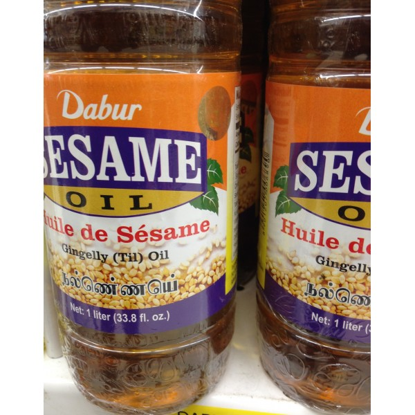Dabur Sesame Oil 33.8 Fl Oz