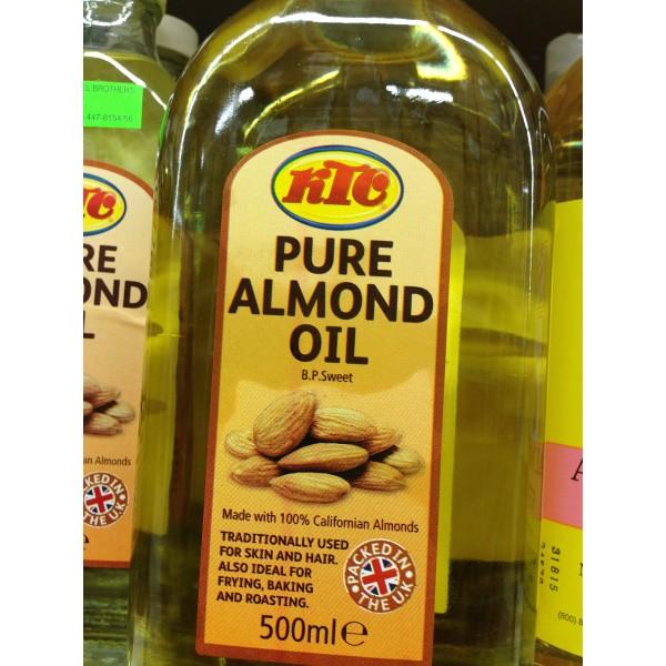 KTC Pure Almond Oil 16.9 Fl Oz