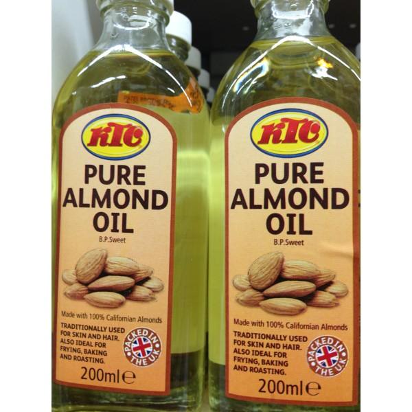 KTC Pure Almond Oil 6.76 Fl Oz