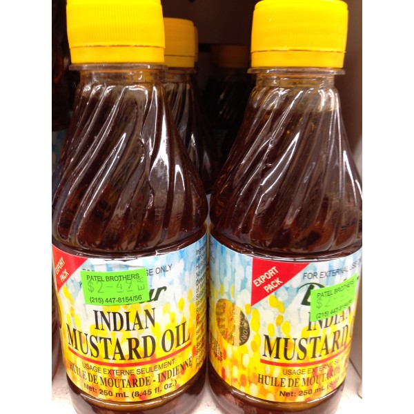 Dabur Indian Mustard Oil 8.45 Fl Oz