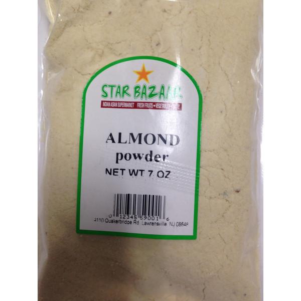 Big Bazaar/ Star Bazaar  Almond Powder 7 OZ / 200 Gms