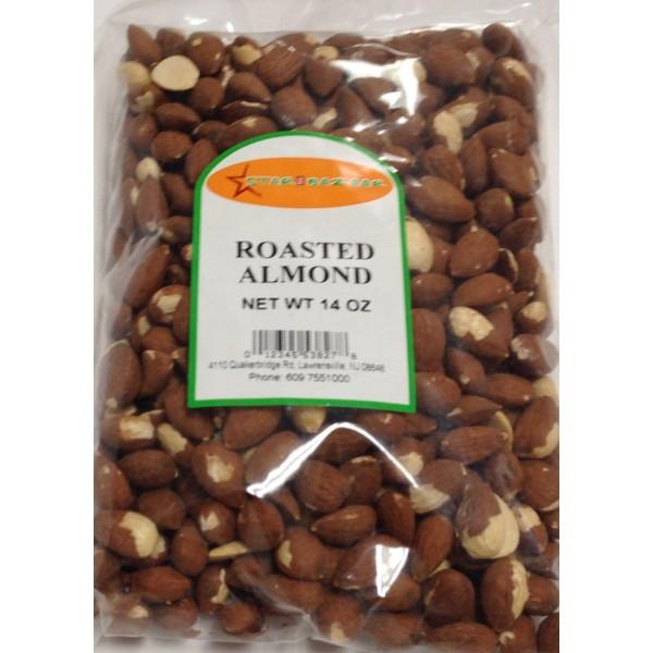 Big Bazaar / Star Bazaar  Roasted Almonds 14 OZ / 400 Gms