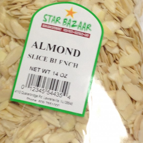 BigBazaar / Star Bazaar  Almond Slice 7 OZ / 198 Gms