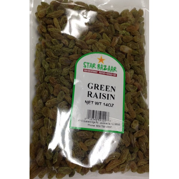 Big  Bazaar/Star Bazaar Green Raisin 14 OZ / 397 Gms