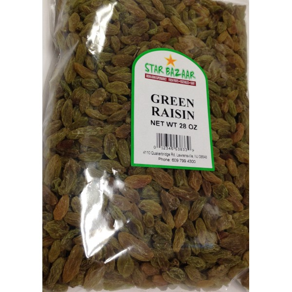 Big Bazaar / Star Bazaar Green Raisin 28 OZ / 794 Gms
