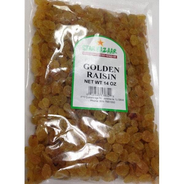 Big Bazaar / Star Bazaar  Golden Raisin 14 OZ / 397 Gms