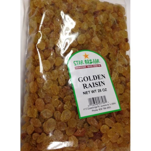 Big Bazaar / Star Bazaar Golden Raisin 28 OZ / 794 Gms