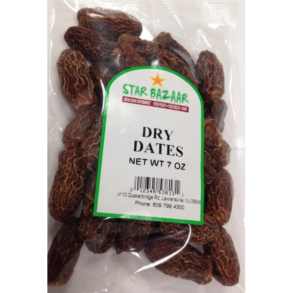Big  Bazaar / Star Bazaar  Dry Dates 7 OZ / 198 Gms