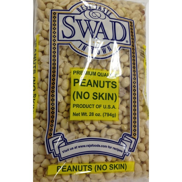 Laxmi/Swad Peanuts(no skin) 28 OZ / 794 Gms