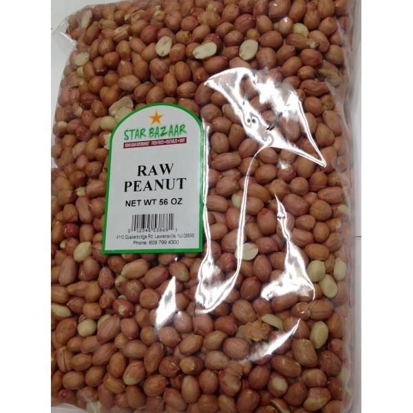Raw Peanuts 56 OZ / 1587 Gms
